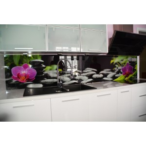 Szklane panele do kuchni